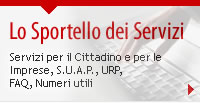 Sportello Servizi (homepage)
