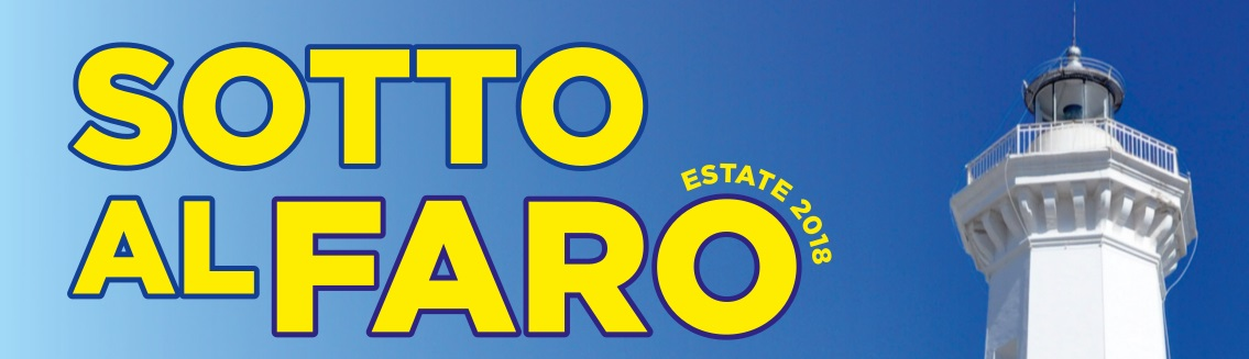 sotto al faro estate 2018 logo