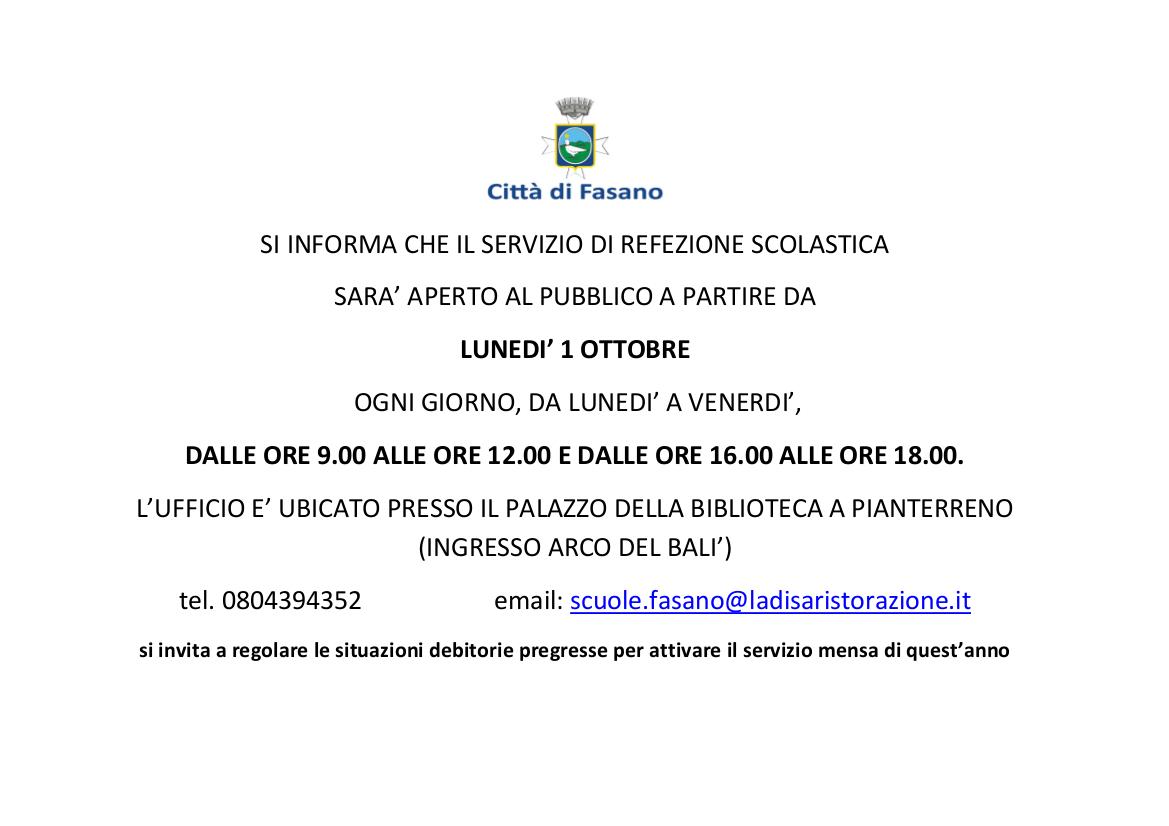 Calendario Scolastico 2020 18 Puglia.Comune Di Fasano Br Modulistica Mensa E Trasporto