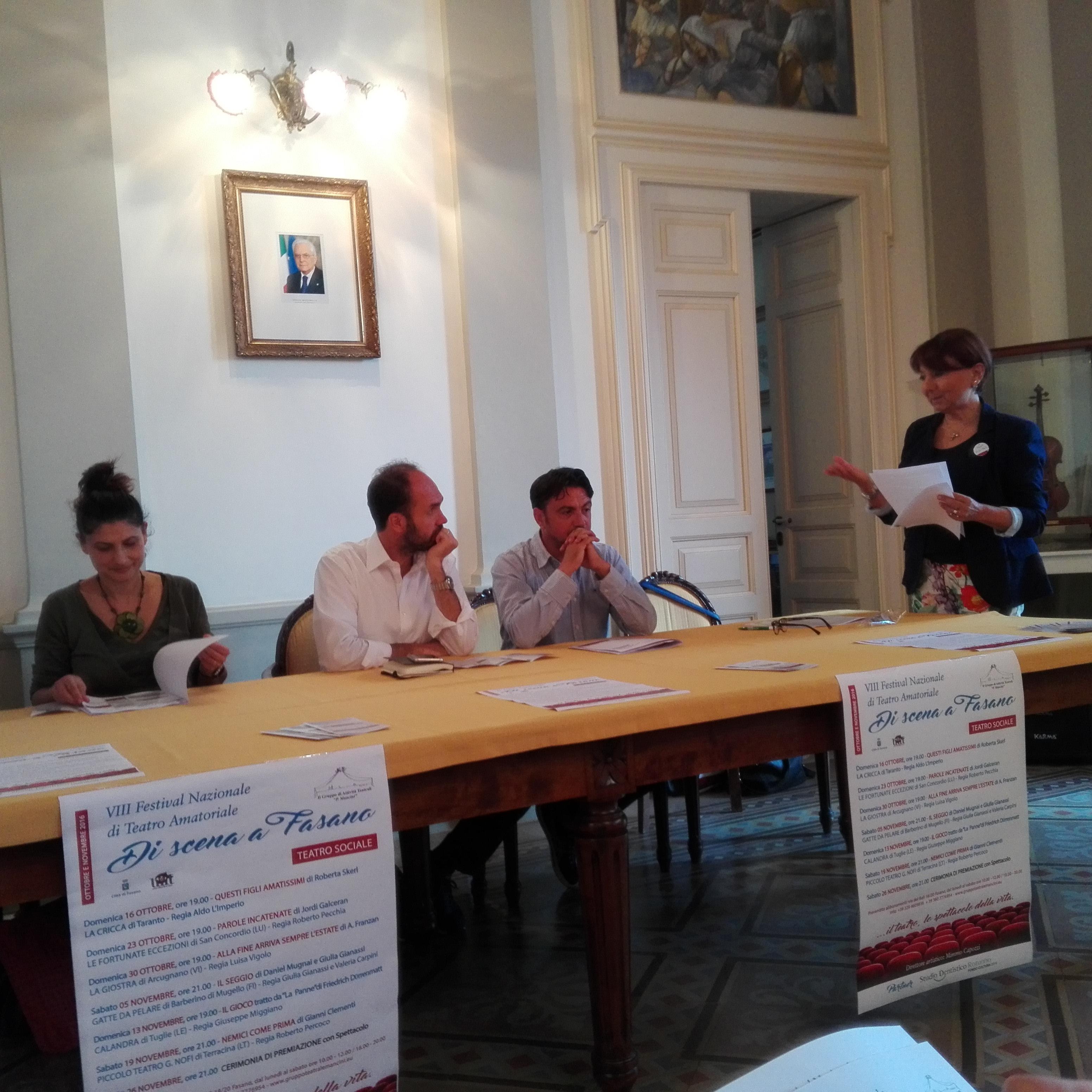 Comune Di Arcugnano Concorsi comune di fasano (br) - presentata l'viii edizione del