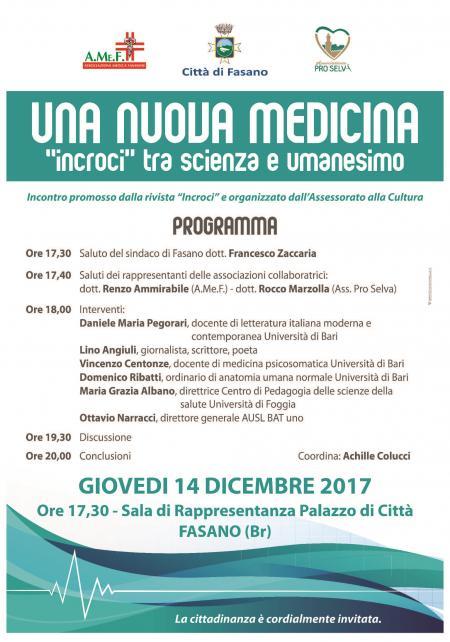 una nuova medicina 14.12.2017